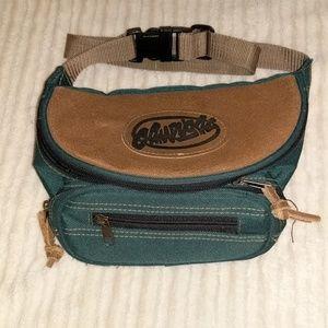 b50d74beb0a2 Green Fanny Pack Belt Bag Festival Thifting